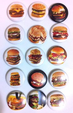 Pardon My French Fries 1 Inch 25mm Pin Button Badge Chips Cute Funny Fast Food