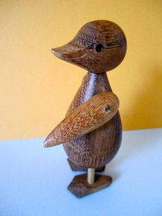 Mid Century Kay Bojesen Era Carved Articulated by VintageParamour