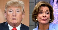 If you're a fan of good television, you know Lucille Bluth from Arrested Development. If you're a fan of bad politics, you know Donald Trump. These two seem to have a lot in common.