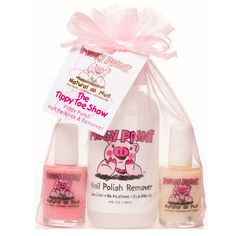 Piggy Paint The Tippy Toe Show Nail Polish & Remover Set