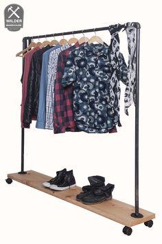 Coleccion Fenix - Clothing Rack - Colgador Movil de Ropa