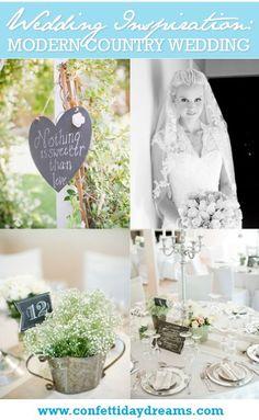 Modern Country Wedding, Gauteng, South AfricaConfetti Daydreams – Wedding Blog
