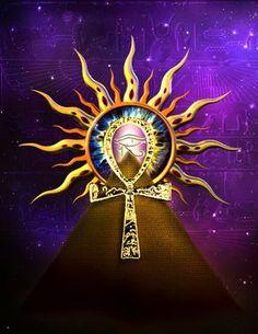 Hidden codes by aninur on DeviantArt Ancient Egypt History, Ancient Egyptian Art, Egyptian Tattoo Sleeve, Arte Do Hip Hop, Arte Alien, Egyptian Goddess, Eye Of Horus, Mystique, Sci Fi Art