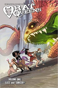 Graphic Novel ► Rat Queens Volume 1: Sass & Sorcery by Kurtis J. Wiebe