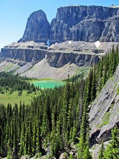 Rockbound Lake, Castle Junction, Banff National Park, Alberta, Canada