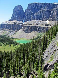Rockbound Lake, Castle Junction, Banff National Park, Alberta, Canada