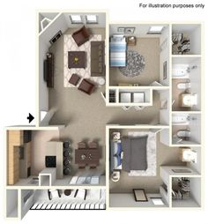 Does this look like your ideal place to call home? Schedule a walk-through today!