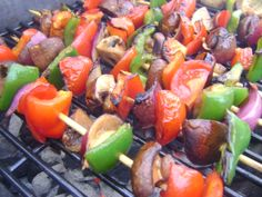 Veggie Goddess Blog - 'GOOD VEGETABLES TO GRILL' (click to read) http://www.theveggiegoddess.com/good-vegetables-to-grill/ #veggiegoddess