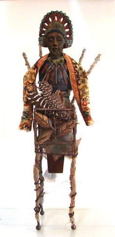 Shamans and Shamanism ART  Lori Gordon will describe her mixed-media work. When Katrina struck in 2005, uprooting Gordon's home and life, she returned to her art using the materials available to her - namely, rubble and found objects. She re-crafts storm debris into assemblages
