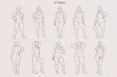Drawing Body Poses, Body Reference Drawing, Female Drawing, Drawing Base, Art Reference Poses, Figure Drawing, Body Sketches, Character Sketches, Woman Body Sketch
