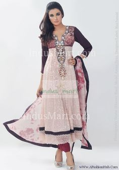 Anaarkali and Pishwaas Pakistani/Indian Dresses 2012 Indian Fashion Trends, India Fashion, Asian Fashion, Fashion 2018, Fashion Women, Indian Wedding Outfits, Pakistani Outfits, Indian Outfits, Saris