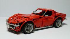 LEGO Set MOC-1757 - Corvette C3 Stingray