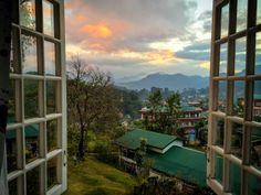 View to the beuatiful small town of Sagada, Philippines