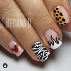 Funky Nails, Dope Nails, Swag Nails, Manicure, Gel Nails, Gorgeous Nails, Pretty Nails, Chic Nails, Crystal Nails