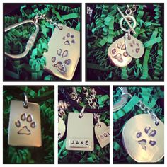 Silver Pet Prints Texas, keepsakes