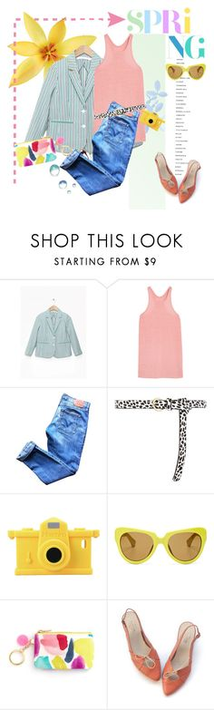 """Primavera"" by pattykake ❤ liked on Polyvore featuring L'Agence, Marc Jacobs, Rachel Antonoff, T By Alexander Wang, Levi's, Dorothy Perkins, Moschino and Linda Farrow"