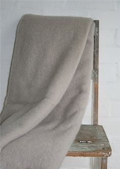 Mohair Mill Shop | Mohair Blankets | Flax Mohair Throw