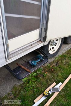 The $1.67 travel trailer door repair and a lesson - nice detailed blog post with good pictures - thumbs up from #LoveYourRV
