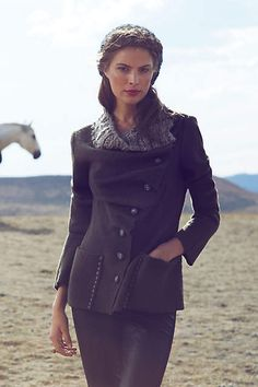 Arslan Sweater Coat - anthropologie.com