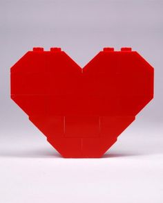 #lego heart - #CreativeBrick Brick, Lego, Container, Urban, Heart, Creative, Food, Day Of The Dead, One Day