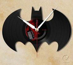 """The Dark Night Rises """"Batman"""" Vinyl Wall Clock"""