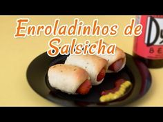 Enroladinho de Salsicha Fácil - Receitas de Minuto #62 - YouTube