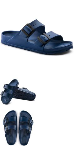 7578385a3f6709 Sandals and Flip Flops 11504  Birkenstock Arizona Eva Regular Men S Sandals  Navy New Shoes - Size M 8 (L 10) -  BUY IT NOW ONLY   35 on eBay!