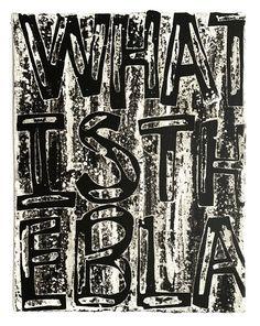 "Adam Pendleton ""What is the Black Dada"" Adam Pendleton, History, Abstract, Black, Art, Summary, Art Background, Historia, Black People"
