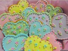 heart cookies by Ladybumblebee