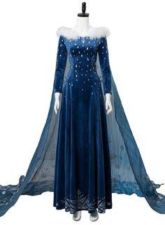 Olaf's Frozen Adventure Princess Elsa Dress Halloween Cosplay Costume – New Cosplaysky Robes Disney, Disney Dresses, Pretty Dresses, Beautiful Dresses, Elsa Outfit, Ice Queen Costume, Disney Princess Dress Up, Frozen Outfits, Halloween Dress
