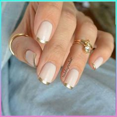 Looking for some wedding nails inspiration? Our collection of exquisite ideas will help you complete your bridal look. Save these ideas for later. Chic Nails, Classy Nails, Stylish Nails, Fun Nails, Pretty Nails, French Manicure Designs, French Tip Nails, French Manicures, Matte Nails