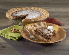 Walnut Pie with Cream Cheese Crust