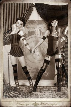 Steamgirl Kato and A.Nomaly