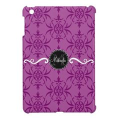 Orlee Purple - Custom Monogram iPad Mini Case