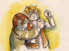 bilbo fanart | Boffins #Bilbofur #Bilbo #Bofur #the hobbit #fanart