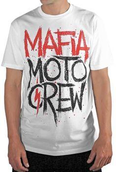 2015 MSR Mafia Moto Crew Spryd Adult Men's Casual Apparel Tee T-Shirt
