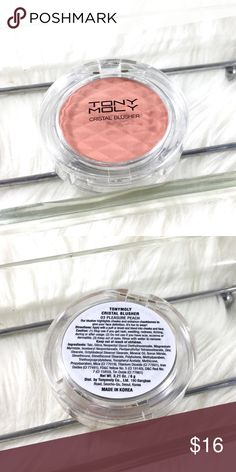 Tony Moly Crystal Blusher in Pleasure Peach Best in Korean Makeup. Very popular brand. Amazing pigment and product. Full size. Brand new never used. All makeup authentic. Over 1k items sold! Save the most with bundles. I offer 25% OFF on bundles of 2 or more. No trades or holds. Serious offers only please remember PM charges fees when sending an offer over. Please Ask all questions before sale. Tony Moly Makeup Blush