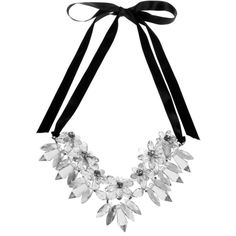 Atmos&Here Bejewelled Necklace ($15) ❤ liked on Polyvore featuring jewelry, necklaces, accessories, jewels, silver, women, jewel necklace, adjustable necklace, flower jewellery and studded jewelry