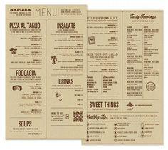Cartas de Restaurantes: Diseños de Menús