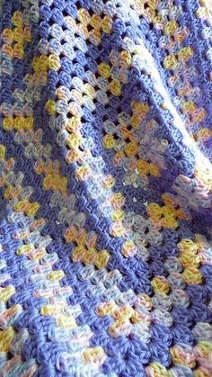Ravelry: buttercup11's R - Basic Granny Square Baby Blanket 4