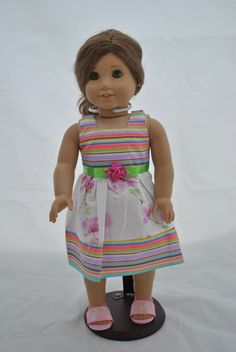 Unique Doll Clothing - Multi Colored Doll Dress, $10.00…