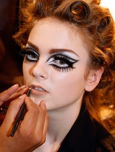 Eyeliner  http://primped.ninemsn.com.au/galleries/makeup-galleries/inky-eyeliner-that%E2%80%99s-sealed-with-a-tick#