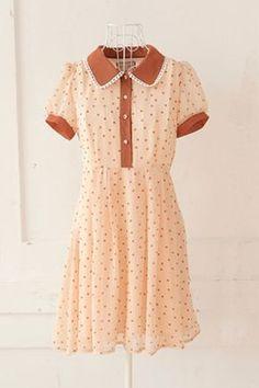Dress vintage casual peter pan ideas Source by melisaskywalker Kleider Vestidos Vintage, Vintage Dresses, Vintage Outfits, Vintage Fashion, 1950s Dresses, 1950s Fashion, Vintage Clothing, Pretty Outfits, Pretty Dresses