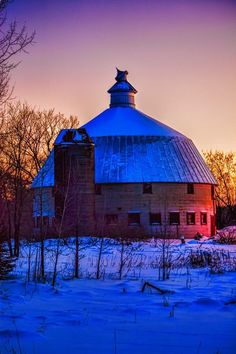 Cambridge Round Barn by Brad Gross - krunkatecture- just incredible!! Would love to see the inside!