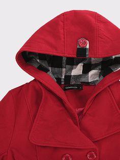 Trendy Women Hooded Coat Jacket Long Sleeve Warm Winter Pocket Outwear Online - NewChic