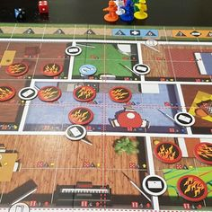Fighting fires in Flashpoint Fire Rescue . Flash Point, Game Night, Tabletop, Board Games, Fiction, Gaming, Miniatures, Fire, Role Playing Board Games