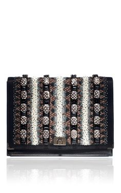 Jason Wu Jourdan 2 Wristlet Embroidered Clutch