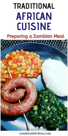 Zambian Food, Nigerian Food, International Recipes, Ethnic Recipes, African Recipes, Vegetarian Recipes, Yummy Food, Meals, Cooking