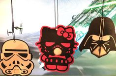 Car Air Freshener Star Wars Miss Kitty Darth by CRFavorFrenzy