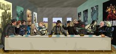 Metal Gear Solid last supper